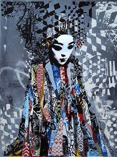 """Die Liste meiner favorisierten Künstler ist soeben um einen Namen reicher geworden: HUSH! Ohnehin ein Wahnsinn, dass ich von dem UK-based Artist bisher noch nichts gefeatured hatte, jetzt gibt es dazu aber einen aktuellen Anlass: gestern hat er nämlich seine Solo-Exhibition namens """"Sirens"""" in Melbourne (in der Metro Gallery) eröffnet und dort ein paar alte und neue Artworks vorgestellt. Die... Weiterlesen"""