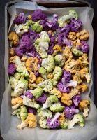Roasted Tri-Colored Cauliflower with Preserved Lemon - Cuisine Noir Magazine