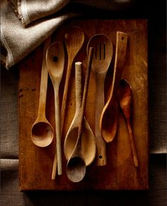 also if anyone would like to donate some fabulous wooden utensils.