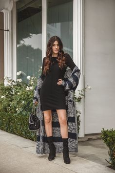 Julia Friedman were a Lovers + Friends Statement Sweater from Revolve Clothing in Los Angeles.