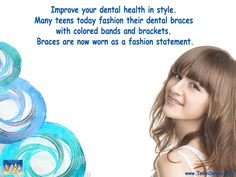 Modern Braces Are a Trend and a Fashion Statement || Team Demas Orthodontics - 51 Depot Street Suite 505, Watertown, CT 06795 Phone: 8602746625. #smilequotes #brace #orthodontics