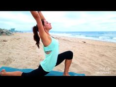 Beach Yoga with Karena  - Tone It Up! It's a nice warm up or cool down less than 20 minute video!