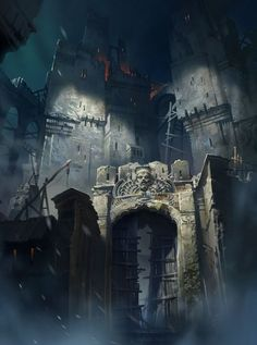 Old castle by ivany86.deviantart.com on @deviantART