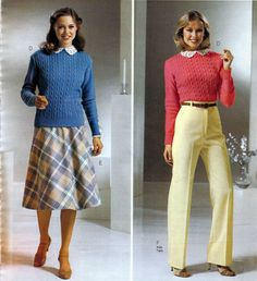 1980 fashion trends | 1980s Women's Fashion Picture Gallery (in chronological order)
