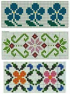Cross Stitch Rose, Cross Stitch Borders, Cross Stitch Embroidery, Cross Stitch Patterns, Mittens, Design Art, Diy And Crafts, Kids Rugs, Elsa