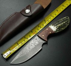41.69$  Watch here  - HOT Browning Hunting Knife Fixed Damascus Steel Blade Knife As Collection Survival Tactical Knifes Camping Knives Outdoor Tools