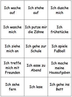 Study German, German English, Learn German, Learn French, German Grammar, German Words, Reflexive Verben, German Resources, Deutsch Language