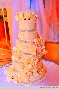 Nigerian wedding cakes jacqueline