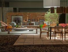27 ambientes com tijolo aparente da Casa Cor 2014 - Casa