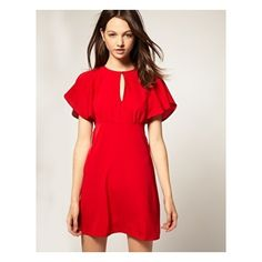 """""""Look!  Red shirt!  GO back...red shirt.  Pretty."""" --apparently she likes red...but only on pinterest?"""