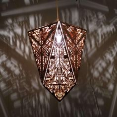 History Of Geometry, Reducing Carbon Footprint, Wood Lamps, Shape And Form, Incandescent Bulbs, Digital Pattern, Pendant Lamp, How To Draw Hands, Lighting