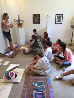 Kids Intensive Art Workshops Summer 2014