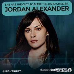 The Night Shift - Dr. Jordan Alexander
