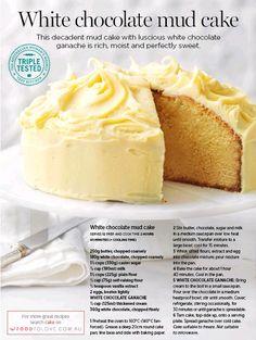 PressReader - The Australian Women's Weekly : 2016-08-01 - White chocolate mud cake