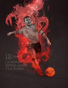 Cool Digital Art by Grzegorz Domaradzki Digital Art, Behance, Football, Drawing, Cool Stuff, Illustration, Sports Posters, Chile, Artworks