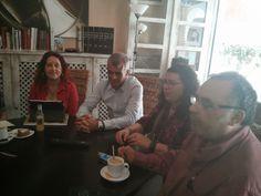 EL BLOG DE NURYA: RECITAL: PALABRAS EN EL CAFÉ, en la cafetería El r...