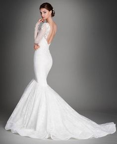 Lazaro Wedding Dresses 2015 Collection Part II - MODwedding