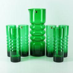 Kuvahaun tulos haulle nanny still maljakot Clear Glass, Glass Art, Glass Pitchers, Glass Collection, Antique Glass, Glass Design, Lassi, Scandinavian Design, Retro