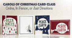 #Stampinup, Stampin Up Christmas, Carol of Christmas