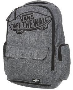 VANS OFF THE WALL MENS WOMENS UNISEX UNDERHILL 2 GRAY BACKPACK LAPTOP PAD #VANS #Backpack
