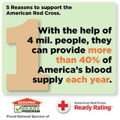 SERVPRO Red Cross Ready Rated