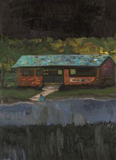 Peter Doig, Ooty Boathouse Study, 2004/05