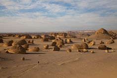 Valley of the Whales, Egyptian Desert (was once an ocean)    ::: ngm.nationalgeographic.com