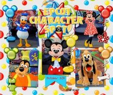 Speed Scrap #135 - MouseScrappers - Disney Scrapbooking Gallery - Lots of inspiration here for your own pages!