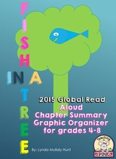 Fish in a Tree by Lynda Mullaly Hunt is one of the Global Read Alouds for October 2015. Find more info here: http://theglobalreadaloud.com/ It is a wonderful book about a girl named Ally who has hidden her inability to read until a wonderful teacher comes along and helps.Welcome to Fish In A Tree Chapter Summaries!