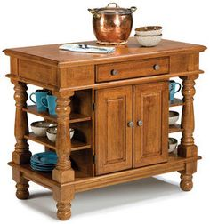 Home Styles - Traditional Kitchen Island