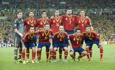 Spain National Football Team 2013 .