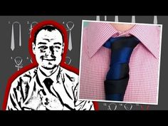 ▶ How To Tie a Glennie Double Necktie Knot - YouTube