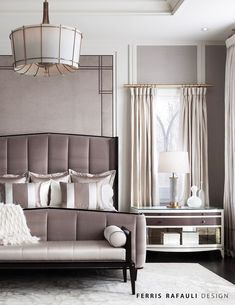 Ferris Rafauli is one of the best interior designers in the world. Take a look at some interior designer Projects created by him and get amazed! Luxury Bedroom Design, Master Bedroom Design, Luxury Interior Design, Home Bedroom, Bedroom Decor, Bedroom Designs, Classic Interior, Best Interior, Luxury Furniture