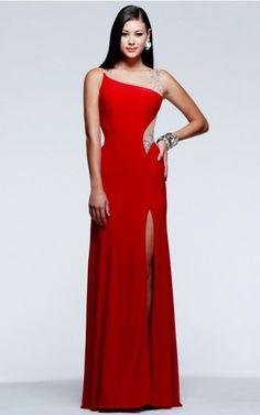 New Arrivals A-line Asymmetrical Evening Dresses