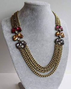 NOWOŚCI 💗👍 Zapraszamy na naszą stronę ne FB💋 Naszyjnik na starym złocie z kryształkami ➡29,99zł https://www.facebook.com/BizuteriaTrendyLady/  #naszyjnik #fashion #moda #style #styl #biżuteria #biżuteriamodowa #jawelry #jawellery #kryształki #nowości