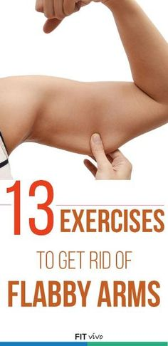 Arm workouts for women. Here are 13 exercises to get rid of flabby arms. The workouts can be done with or without weights or a kettlebell. Challenge yourself and tone your arms. It's about time to look sexy with sleeveless tops for the summer. by eva.ritz