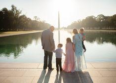 Lincoln Memorial Washington Monument DC family photographer
