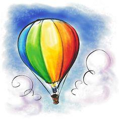 Contos para criança ler, ouvir e sonhar!: Um balão e um sonho!