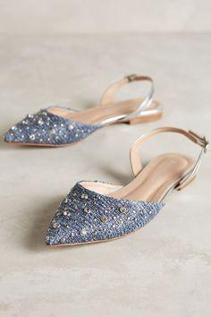 Raphaella Booz Jeweled Prinnia Slingbacks - anthropologie.com