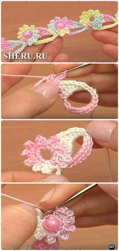 The method of knitting with be  