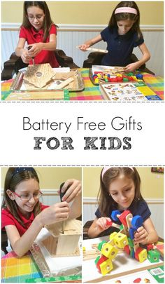 Battery Free Gifts for Kids #kids #gifts #toys