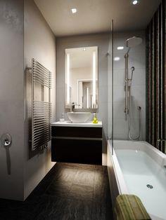 Das Minibad | Badewannen, Euro und Badezimmer | {Badewanne mit dusche und einstieg 54}