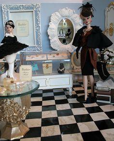 "Capucine at ""Belles Choses"" 3 | Shopgirl's fancy shop dioram… | Flickr"