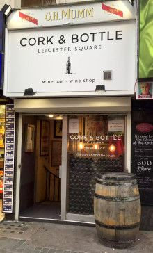 Cork & Bottle Restaurant and Wine Bar - Leicester Square - London