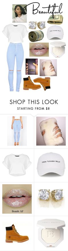 """⚪️"" by ashanti122 ❤ liked on Polyvore featuring Topshop, Natasha Zinko and Timberland"