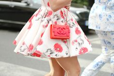 Threads Styling - Street Style - Chanel - Giambattista Valli Couture 2014