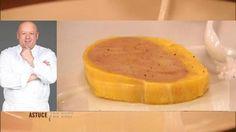 Foie gras de canard au torchon, Recette de MARX Thierry