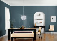 This is the project I created on Behr.com. I used these colors: OBSERVATORY(PPU13-19),