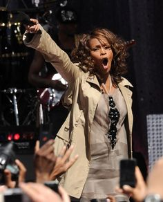 RIP Whitney Houston, dead today 2/12/2012. I'll remember you like this.