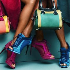 Burberry Prorsum spring sumer 2015 bag and shoes ad campaign.